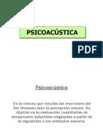 Psicoacustica EXCELENTE