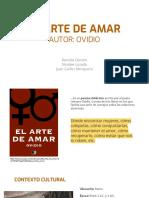 El Arte de Amar Autor_ Ovidio