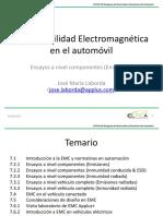 7.2.1 Ensayos a Nivel Componentes (Emisiones)