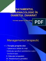7 Mai 2018 - Trat Nefarmacologic in DZ - Dr. Georgescu