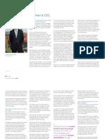 Informe Integrado 2016 Entrevista Al Presidente En