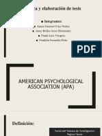 American Psychological Association (APA)-1