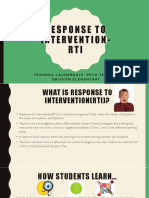 response to intervention-ppt lead teacher plc