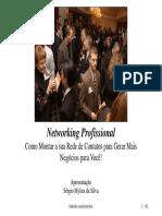 Palestra de Networking e Indicações Profissionais