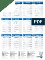 Pdf Calendario 2020.Calendario 2019 Pdf
