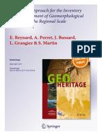 2015 Reynard Et Al Geoheritage