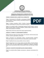 Introducción Al Derecho Programa