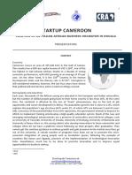 Presentation Startup Cameroon