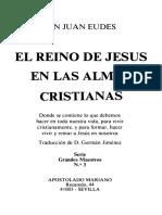 El Reino de Jesús en las almas cristianas