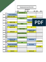 Copie de Planning Des Examens GC Semestre I - 2017-2018