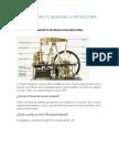 Antecedentes y Causas de La Revolución Industrial