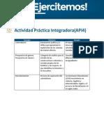 API 4 - Sociologia General