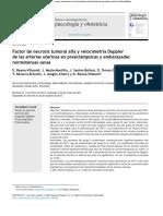 FNT ALFA artículo inmunología
