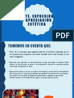 RBD Arte, Expresión y Apreciación Estética Equipo Rbd