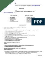 m brill resume 5
