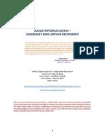LUCIUS ARTORIUS CASTUS - LEGENDARY KING ARTHUR DECIPHERED - Version 1-0