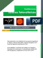 Presentacion fotovoltaica