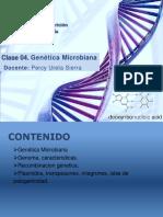 TEORIA 4. Genetica Bacteriana