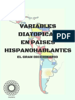 Diccionario Variables Diatopicas