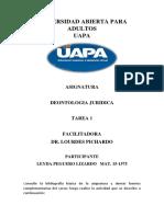 Tarea 1 Deontologia Juridica Leyda