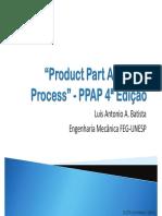 Treinamento de Product Part Approval Process - PPAP 4ª Edição