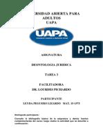 Tarea 3 Deontologia Juridica Leyda