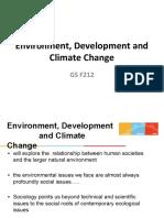 Environmental development