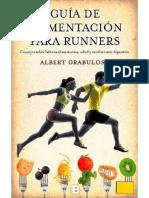Albert Grabulosa Reixach Guía de Alimentación Para Runners