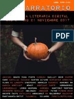 El Narratorio Antologia Literaria Digital Nro 21 Noviembre 2017