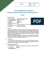 Silabo Ciii Arquitectura Ing.civil