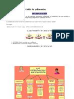 Multiplicación y División de Polinomios