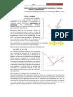 Movimiento Curvilineo, Componentes Tangencial y Normal; Radial y Transversal