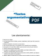 textos argumentativos [Autoguardado]