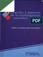 Guadarrama - Dirección y Asesoría en La Investigación Científica