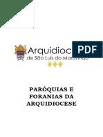 Foranias Da Arquidiocese de São Luís - MA