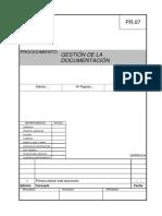 PR.07 Gestion de Documentos