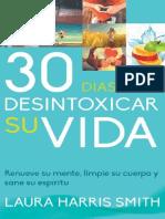 30 Días Para Desintoxicar Su Vida - Laura Harris Smith