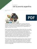Decalogo de La Anomia Argentina