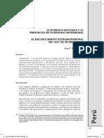 ALEX F. PLACIDO v. - La Evidencia Biologica y La Presuncion de Paternidad Matrimonial