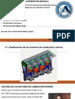 Clasificación de Los Motores de Combustión Interna