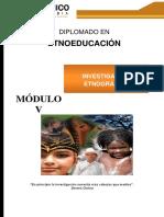 Guía 5 Investigación Etnografica