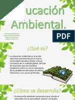Educación Ambiental.