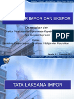 Materi Workshop Ekspor Impor