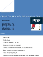 Crude Oil Prices Final