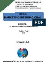 Marketing Internacional - Sesiones 7-8