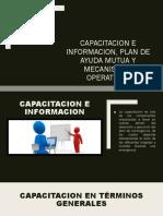CAPACITACION E INFORMACION, Plan de ayuda mutua.pptx