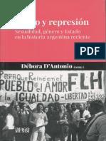 Débora D'Antonio (comp.) - Deseo y represión - Sexualidad, género y Estado en la historia argentina reciente