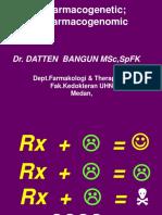 5685_UHN2012Pharmacogenomic pharmacogenetic