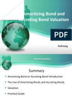 Amortizing Bond and Accreting Bond Valuation