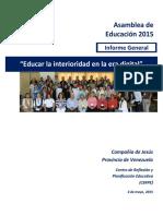 Informe Asamblea de Educacion Ano 2015- 4 de Mayo-VFR